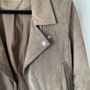Blank NYC Jackets & Coats - BlankNYC Suede Jacket in Sand Stoner large.